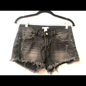 Black H&M Denim Shorts